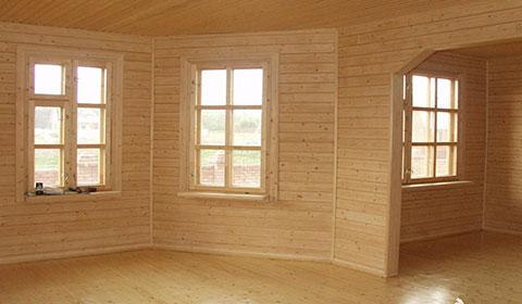 Внутренняя и внешняя отделка деревянного дома
