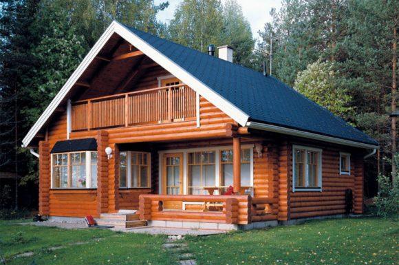Экологчный деревянный дом