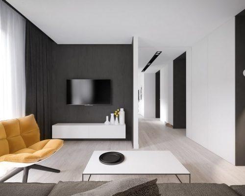 Минимализм - вариант дизайна интерьера квартиры, современный тренд